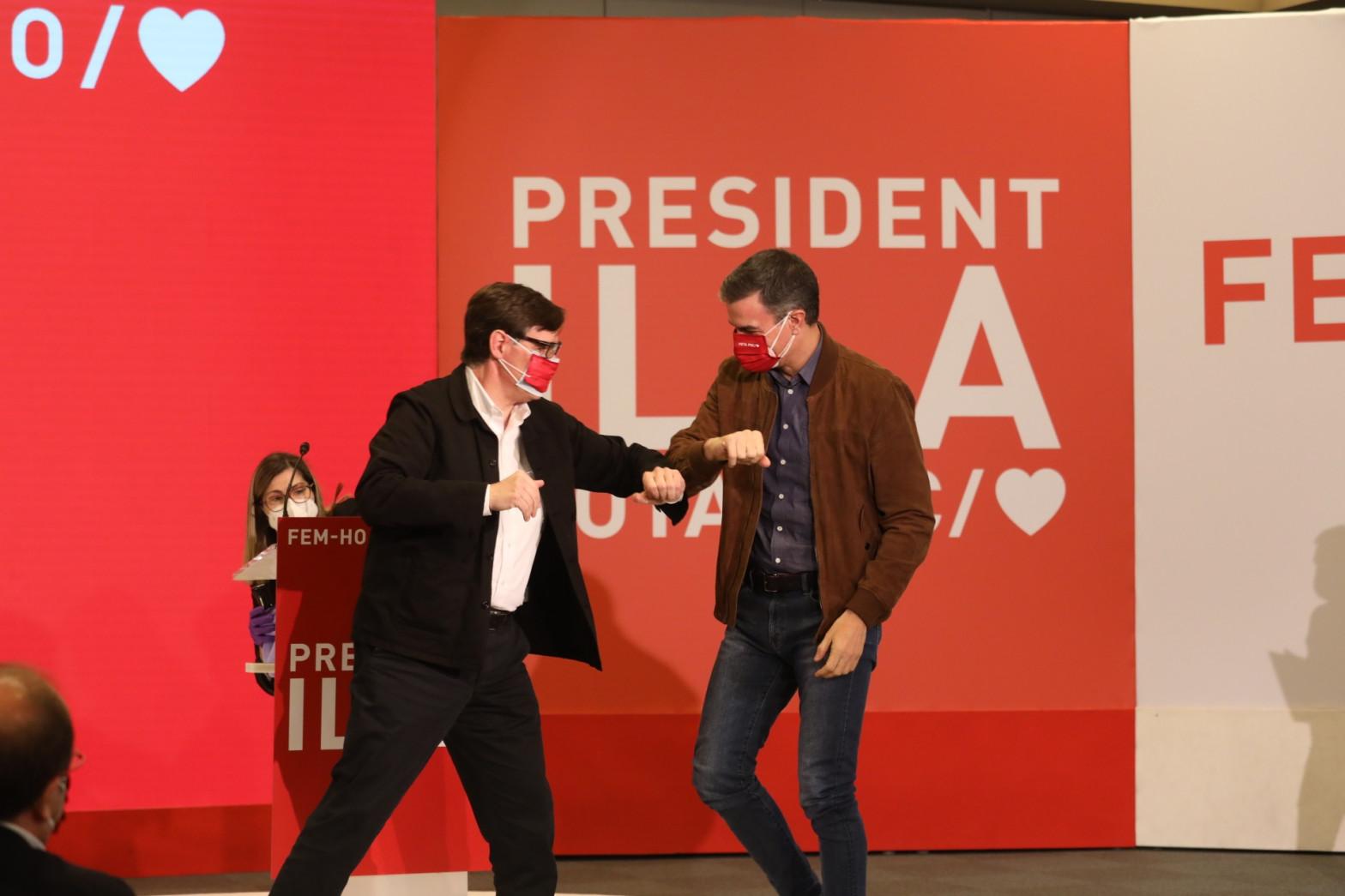 El PSOE traiciona a Podemos y revienta su anuncio estrella para el 14-F
