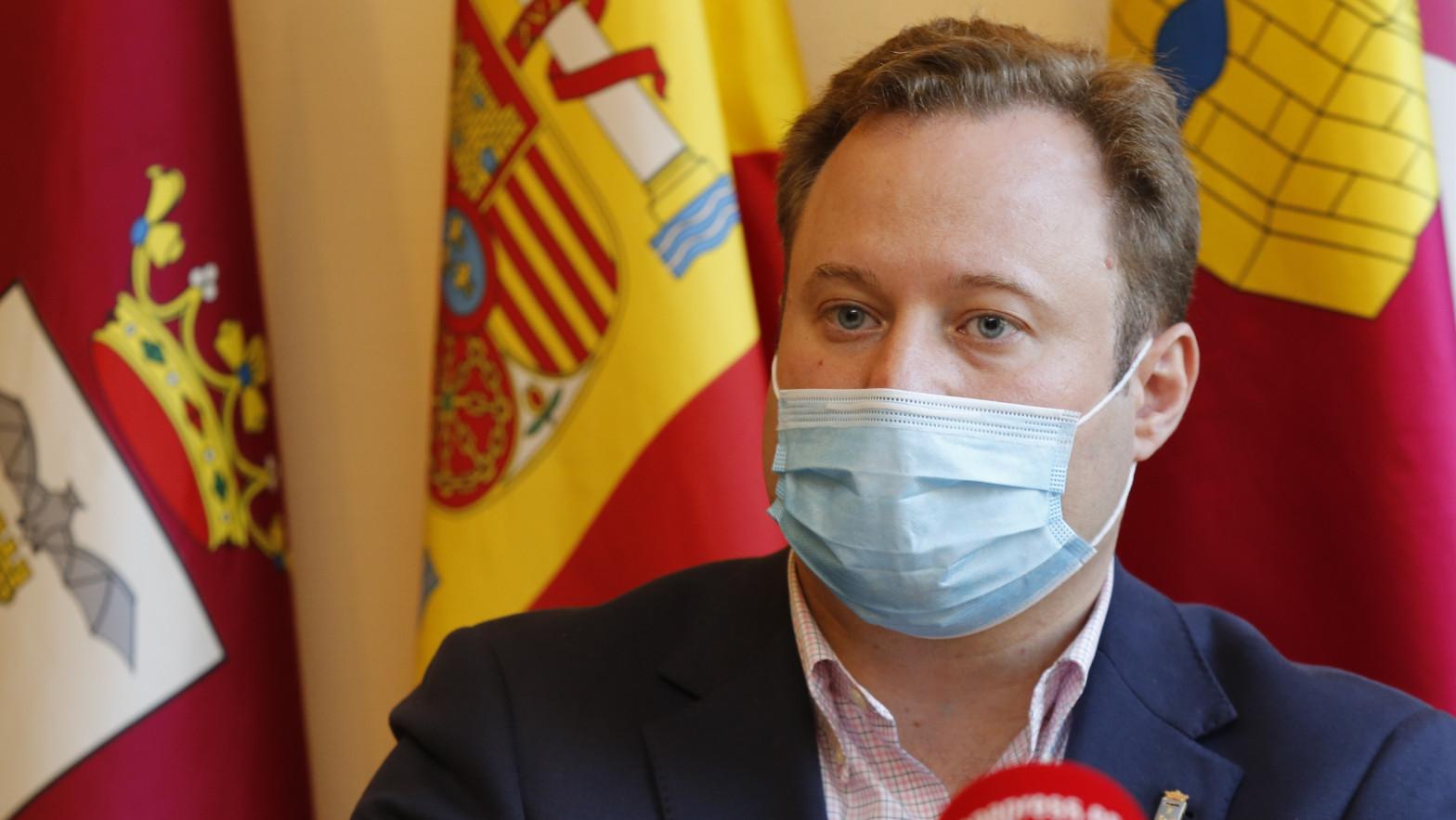El alcalde de Albacete, Vicente Casañ.