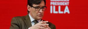 Salvador Illa, candidato del PSC a la Generalitat