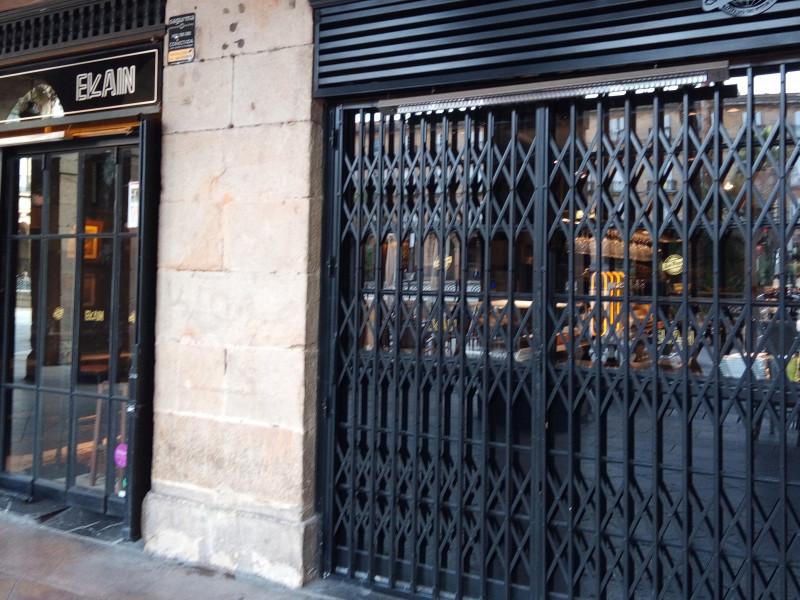Un establecimiento de hostelería en Bilbao (País Vasco)