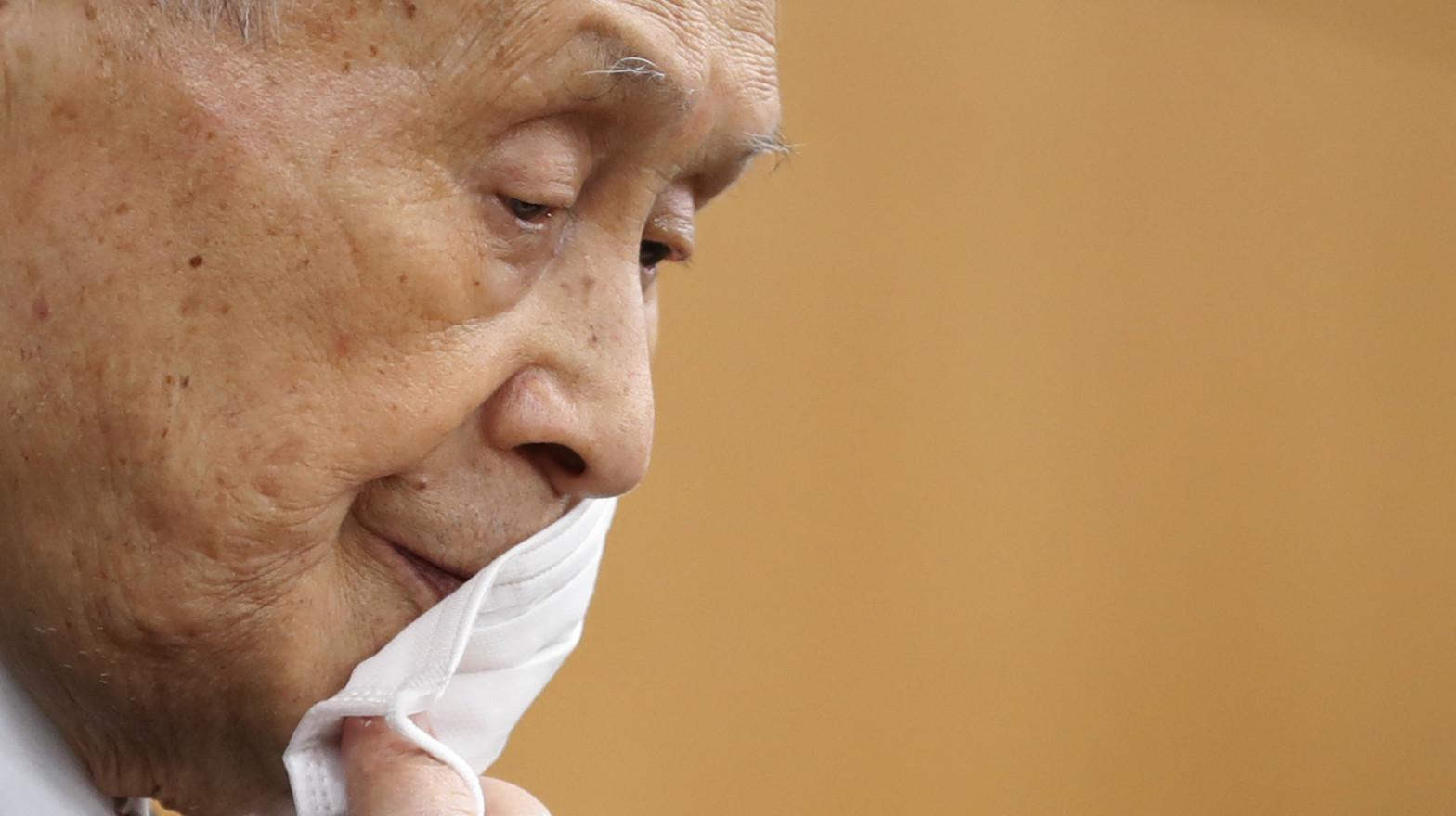 El presidente de los Juegos Olímpicos de Tokio, Yoshiro Mori.