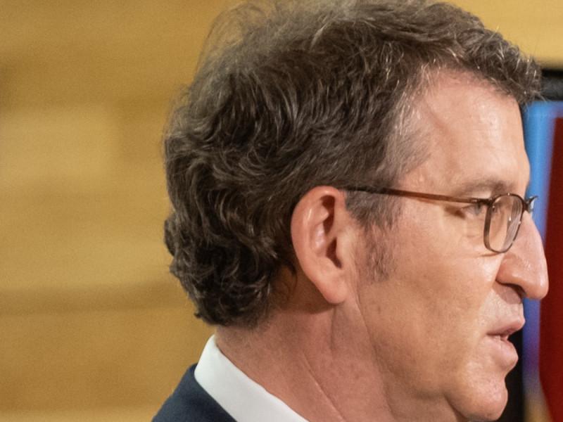 Feijóo respalda la actuación del Gobierno de Rajoy en el 1-O tras las críticas de Casado