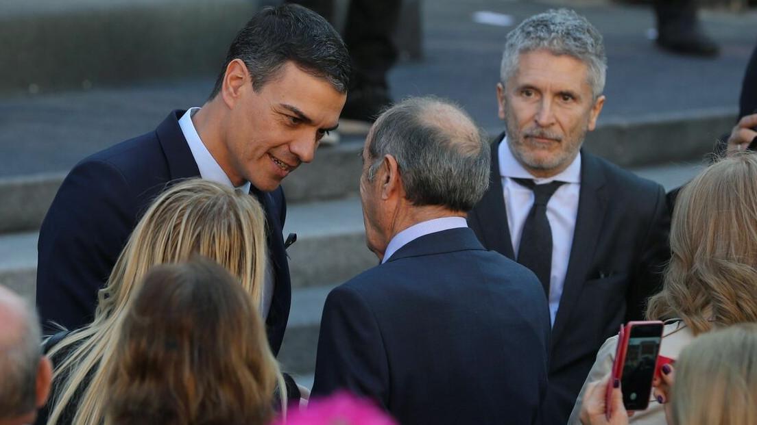 Pedro Sánchez y Fernando Grande-Marlaska