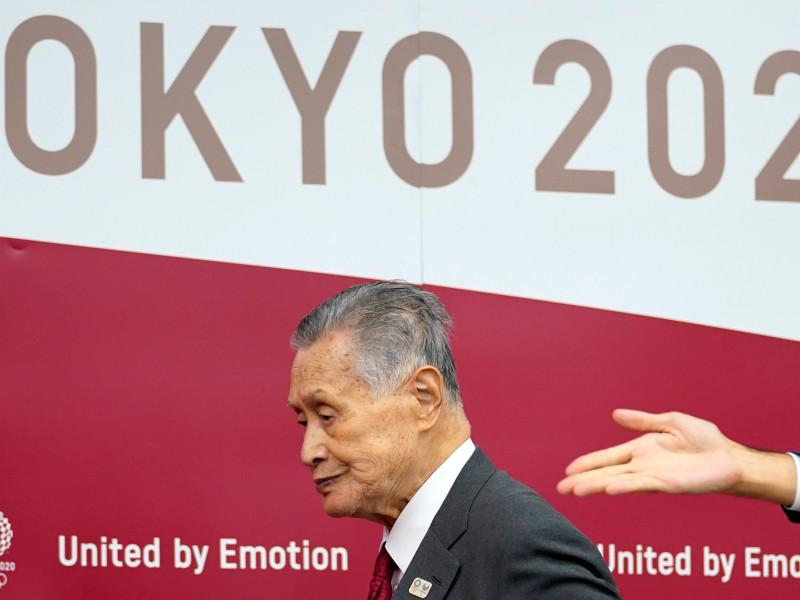 El presidente de los Juegos Olímpicos de Tokio 2020, Yoshiro Mori