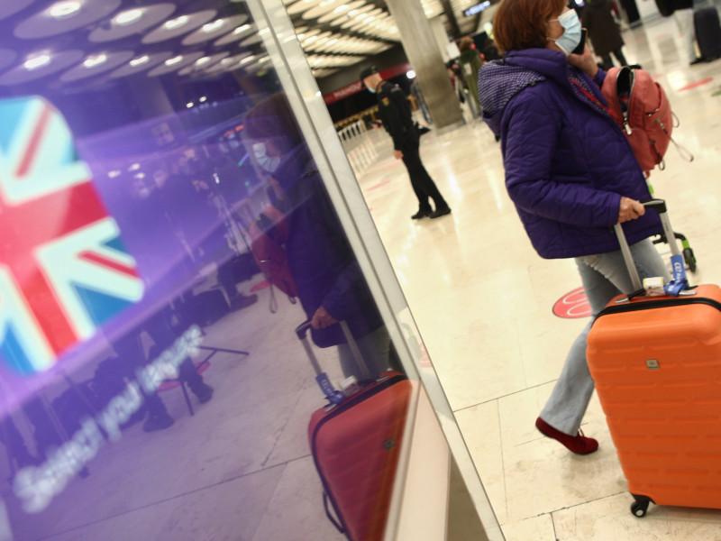 Viajeros desde Reino Unido.