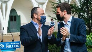 Génova impone al PP catalán tres caras nuevas frente al liderazgo de Alejandro Fernández