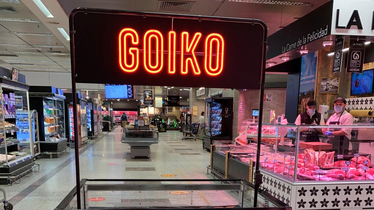 Goiko se alía con El Corte Inglés para vender sus hamburguesas en los supermercados