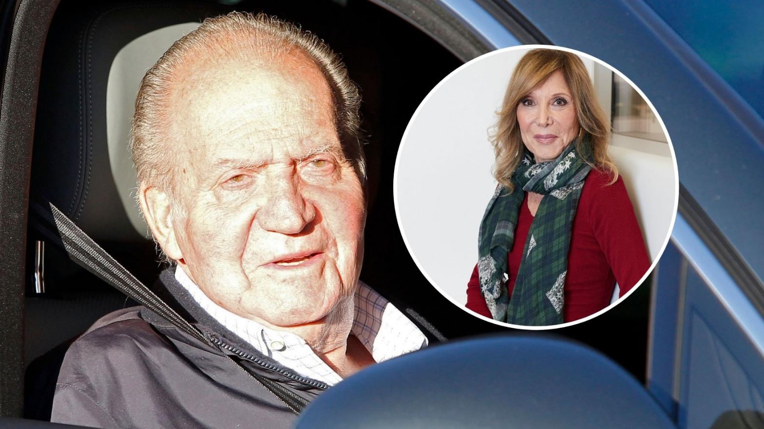 Pilar Eyre desvela de dónde salió la información sobre la salud del rey Juan Carlos