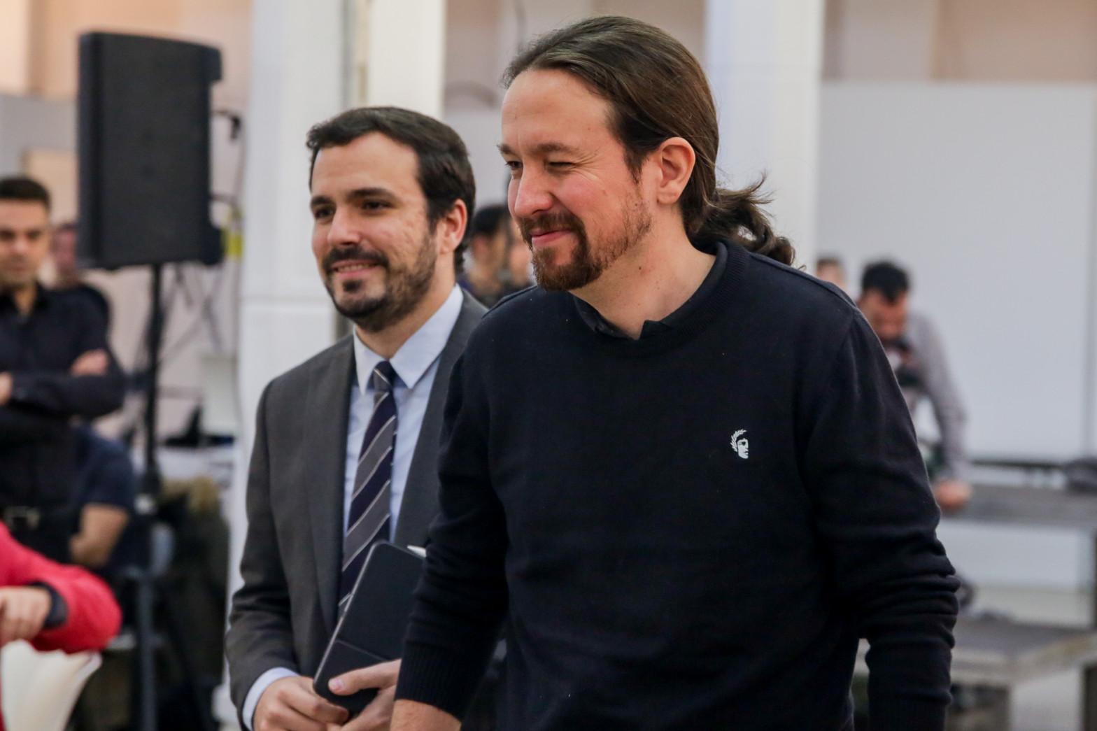 Podemos e IU crean la nueva coalición Unidas Podemos por Andalucía