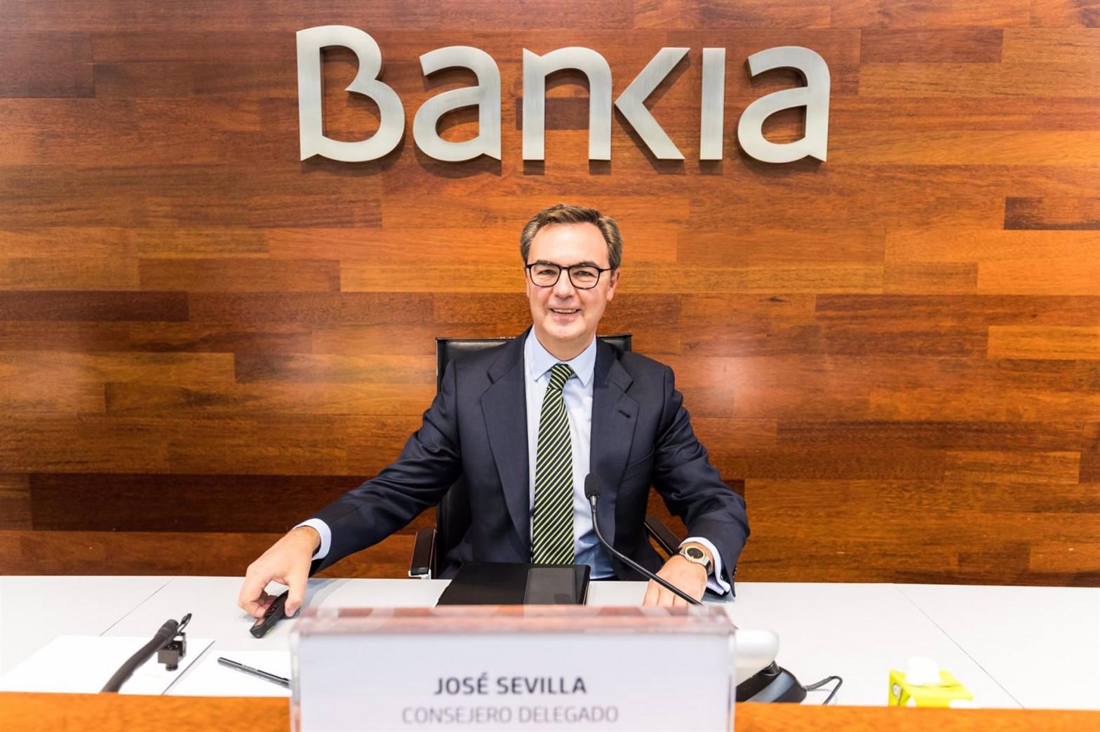 José Sevilla y otros directivos dejarán Bankia tras la fusión con CaixaBank
