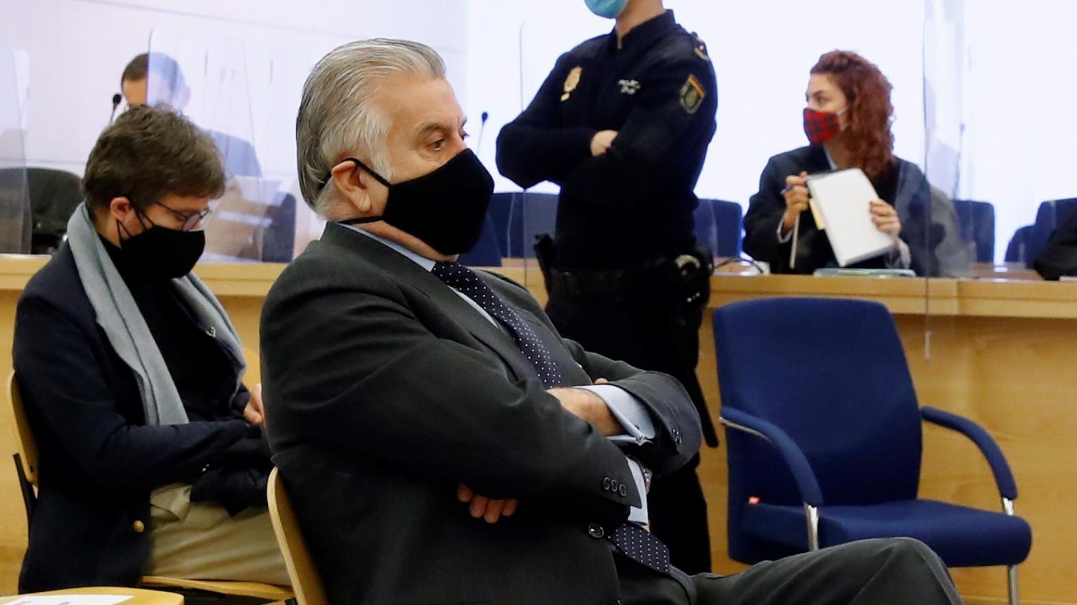 Luis Bárcenas vuelve a la Audiencia Nacional para declarar sobre el PP en 'Púnica'