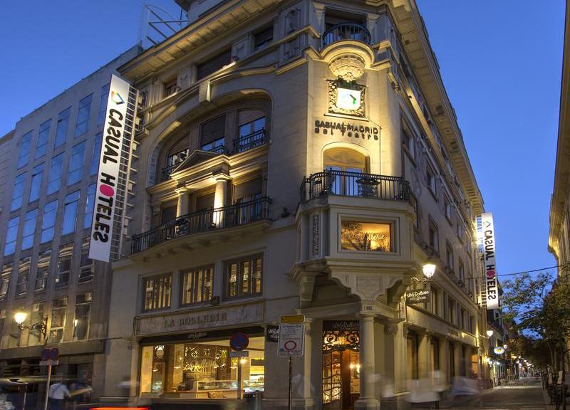 Hotel Casual Madrid del Teatro.