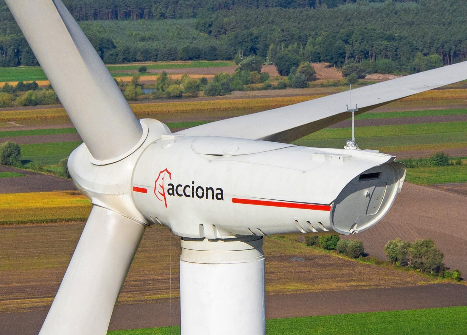 Aerogeneradores de Acciona Energía.