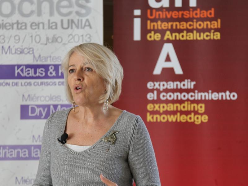 Gabriela Cañas, presidenta de la Agencia EFE