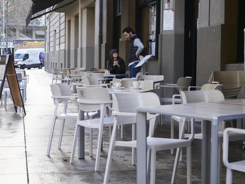 Bar en Navarra.