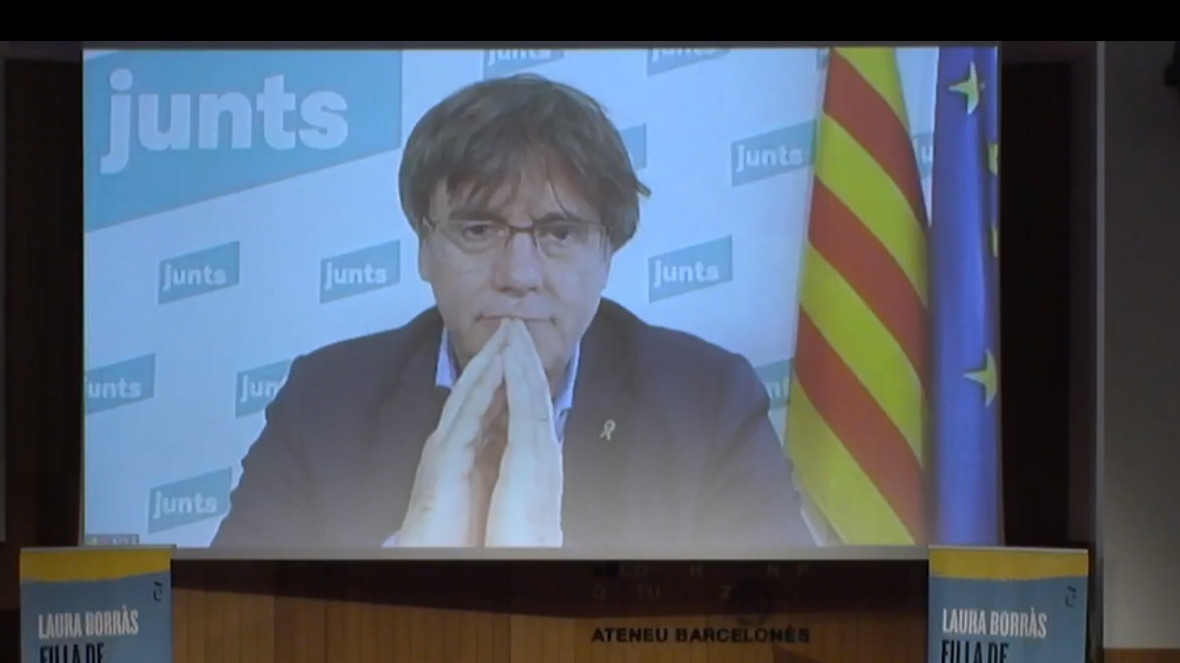 El expresident de la Generalitat de Cataluña, Carles Puigdemont.