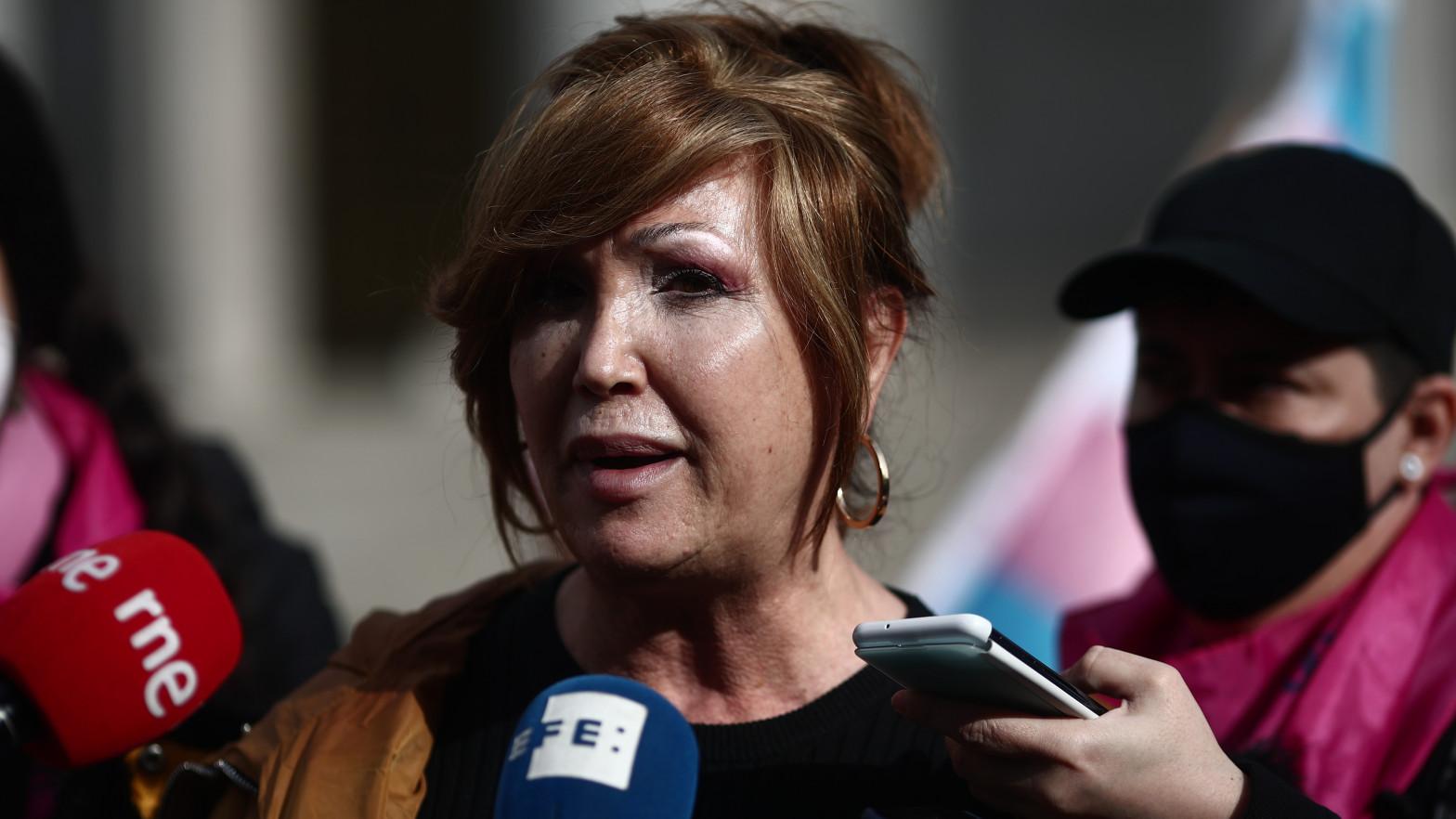 La presidenta de la Federación Plataforma Trans, Mar Cambrollé.