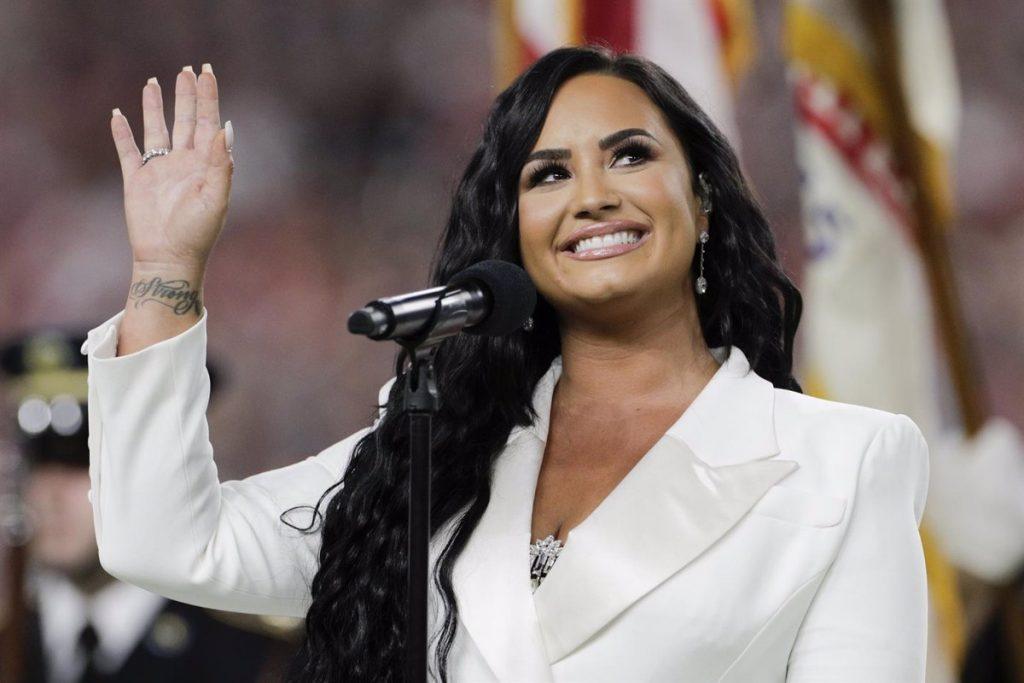 Demi Lovato. Europa Press.
