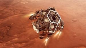 El vehículo Perseverance llega con éxito a la superficie de Marte