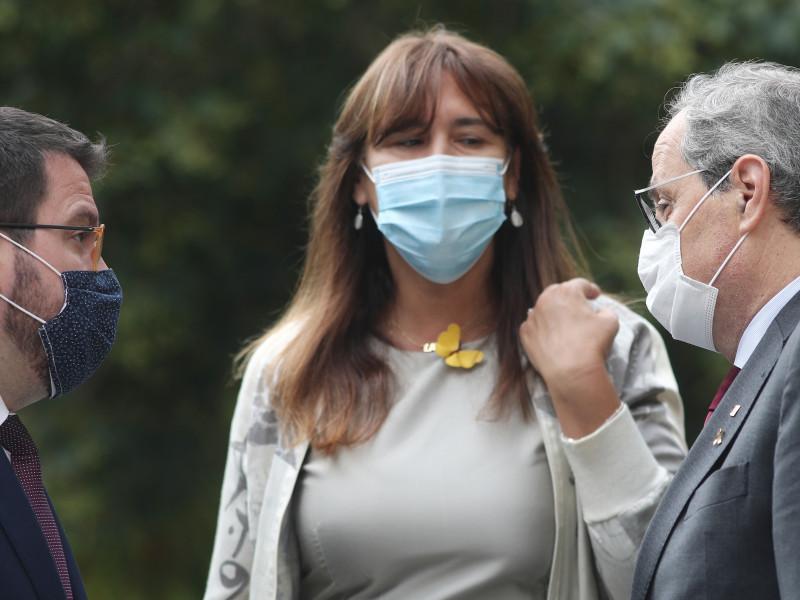 ERC y Junts se pelean por las 'embajadas' catalanas al desconfiar de la Mesa de Diálogo