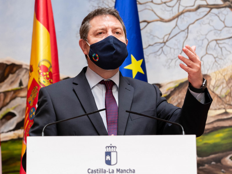 El jefe del Ejecutivo de Castilla-La Mancha, Emiliano García-Page.
