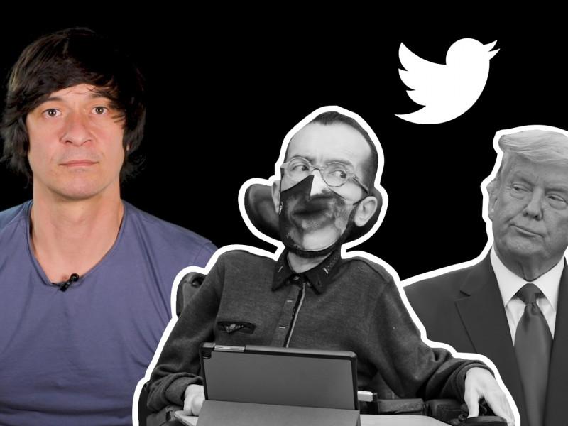 ¿Por qué Twitter cerró la cuenta de Trump y no la de Echenique?
