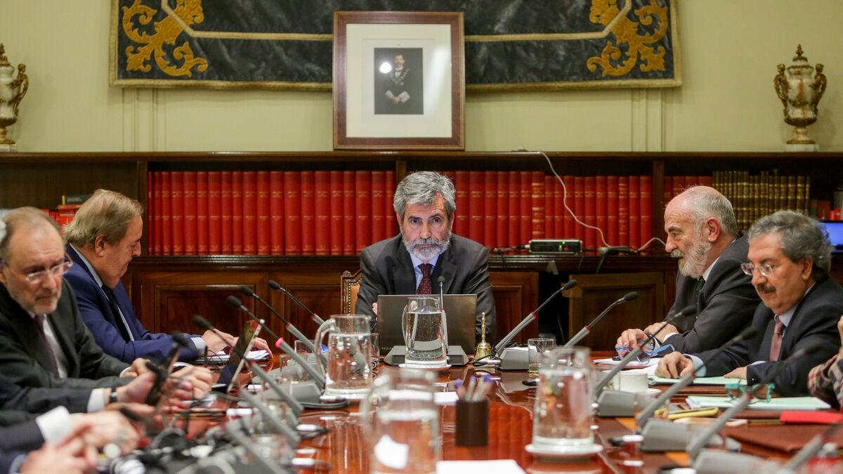 El CGPJ abre la puerta a llevar ante el TC la reforma del PSOE y Podemos