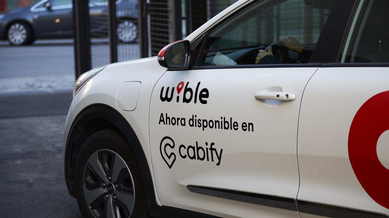 Cabify se alía con Wible e incluye los coches compartidos en su 'app'