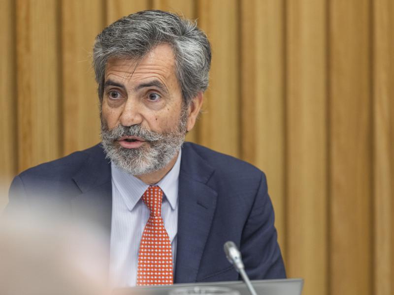 El presidente del Consejo General del Poder Judicial (CGPJ), Carlos Lesmes.