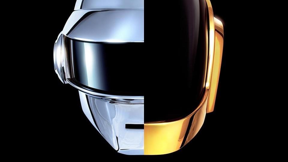 Cascos de Daft Punk.