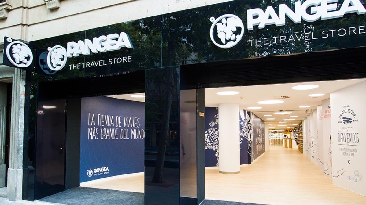 Exterior de una de las tiendas de Pangea