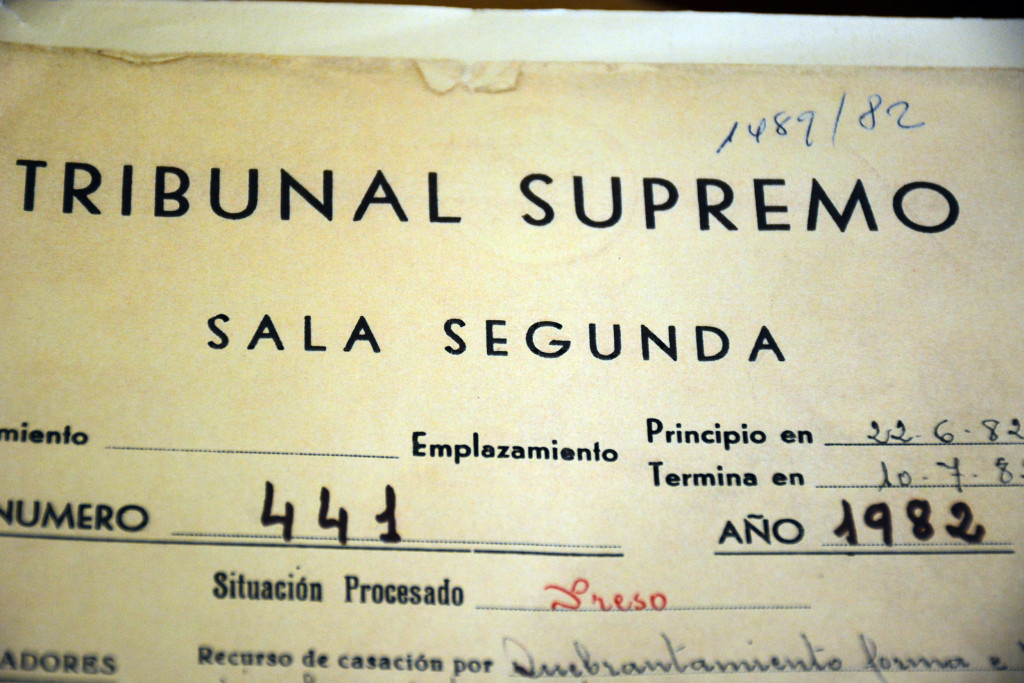 Sumario del 23-F en el Tribunal Supremo
