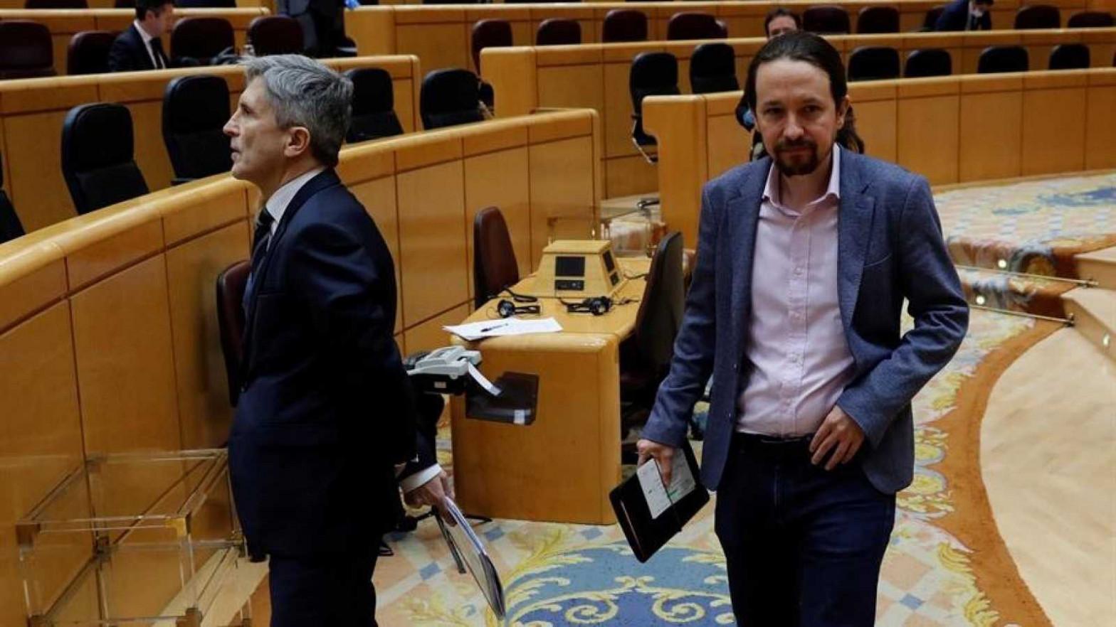 La Eurocámara pide respuestas a Iglesias y Marlaska por los abusos a menores tutelados