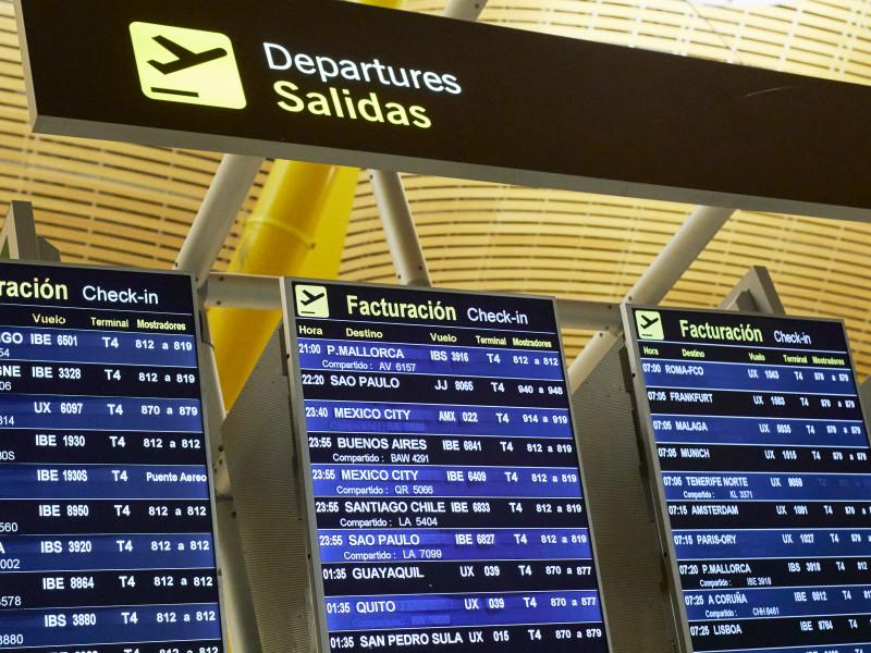 Ampliado al 30 de marzo las restricciones a vuelos de R.Unido, Brasil y Sudáfrica