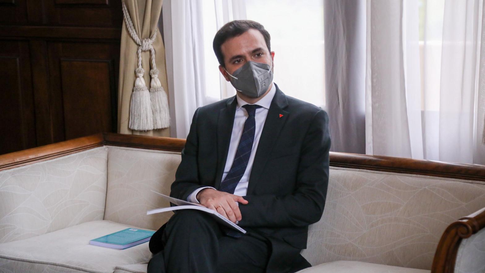 Alberto Garzón, ministro analógico