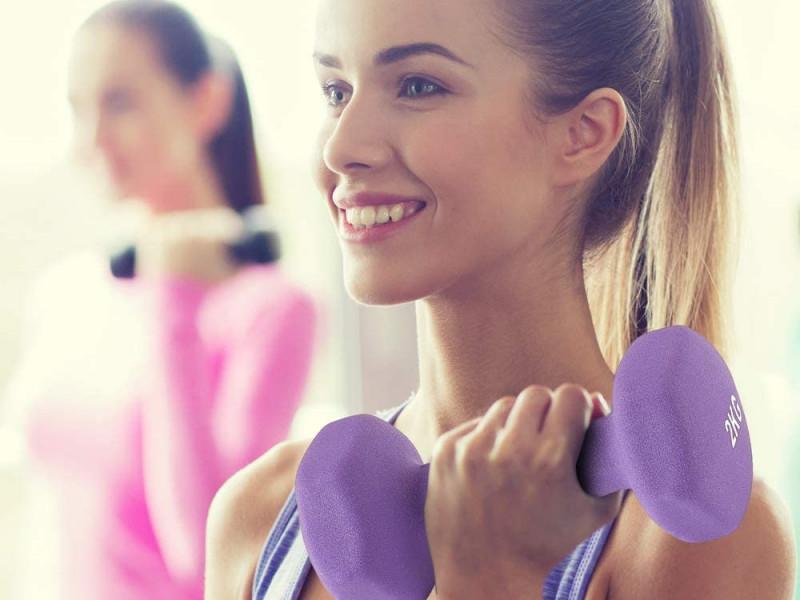 Mancuernas para hacer ejercicio en casa