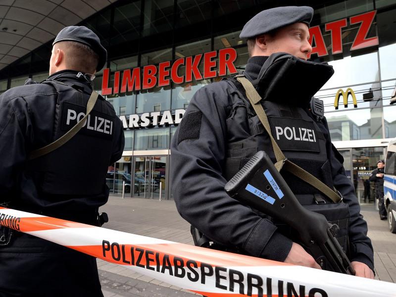 Agentes de policía en Alemania.