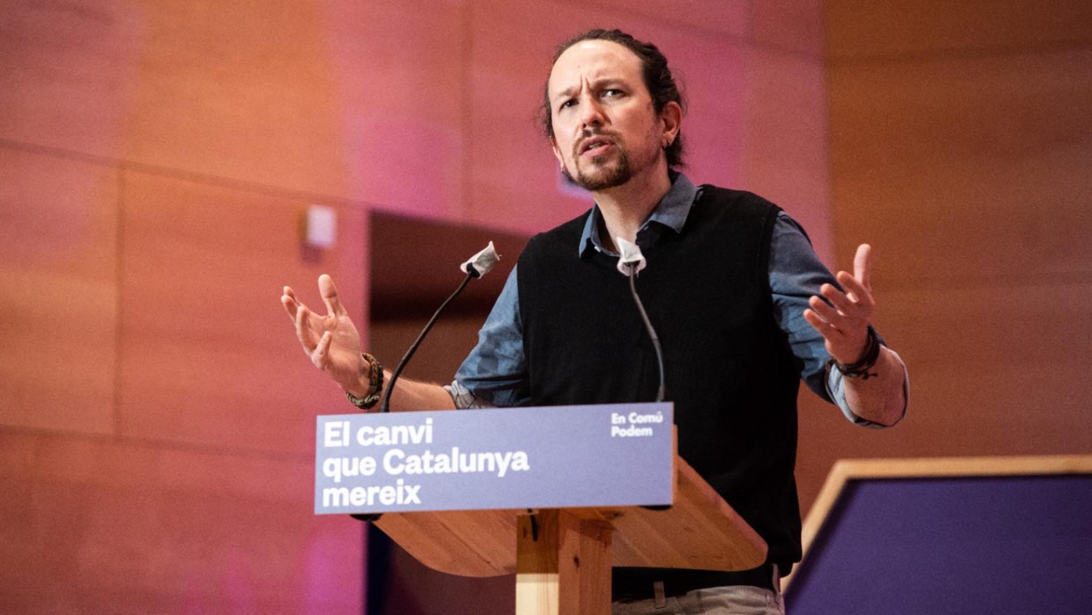 El vicepresidente del Gobierno Pablo Iglesias