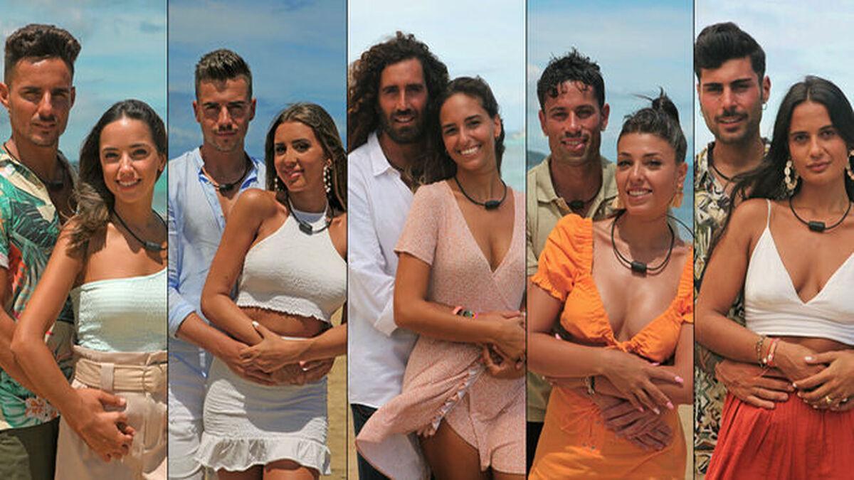 'La isla de las tentaciones 3': quiénes son las parejas y los tentadores solteros y solteras