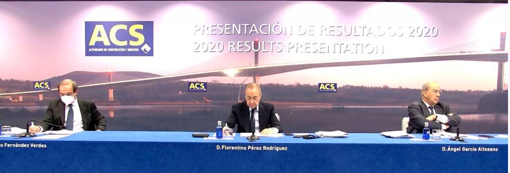 Florentino Pérez busca un alianza entre ACS y Vinci para invertir en renovables