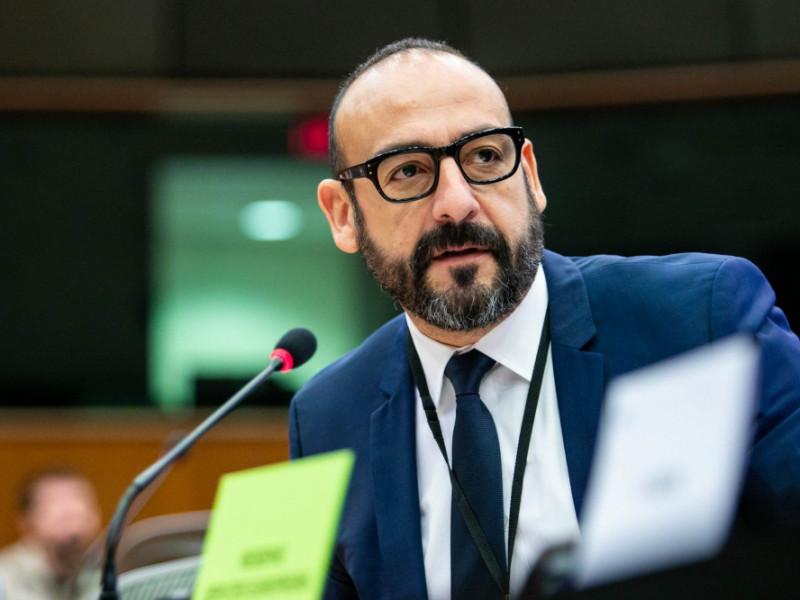 El eurodiputado de Ciudadanos, Jordi Cañas.