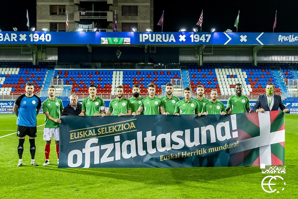 Los dos candidatos a controlar el fútbol vasco proponen una selección de Euskadi oficial
