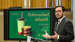 Alberto Garzón, ministro de Consumo, defiende el polémico Nutriscore.