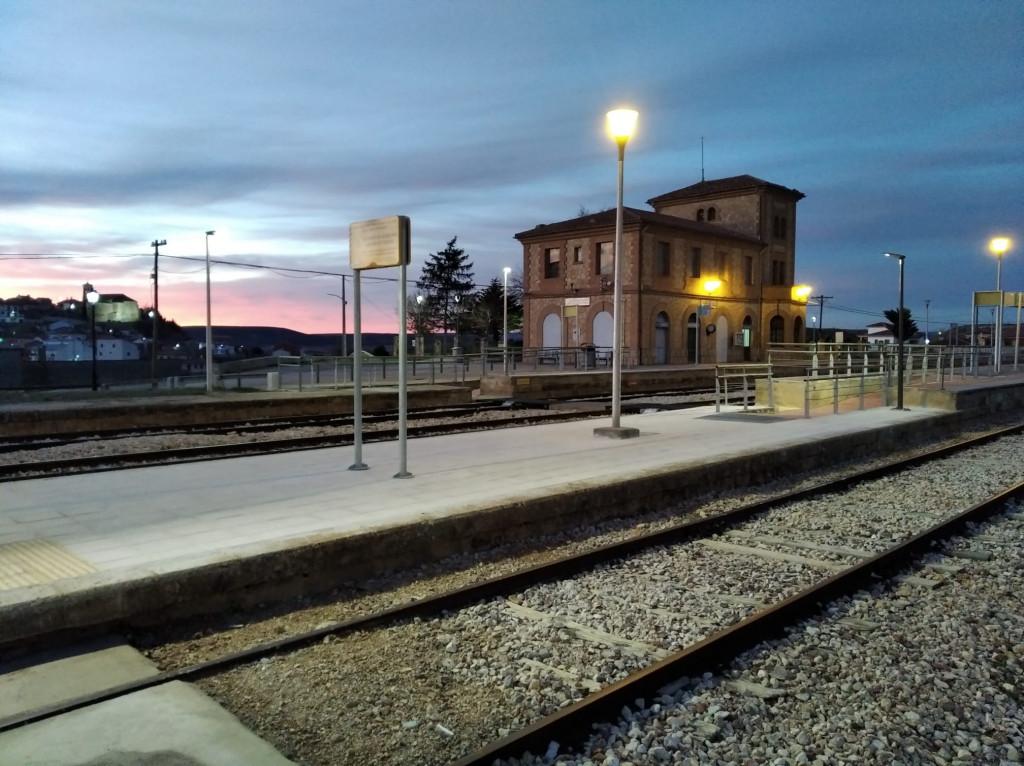 Estación de tren de Carboneras de Guadazaón, en Cuenca.