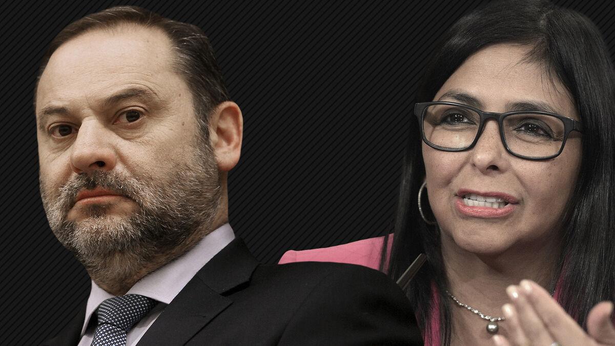 """Ábalos rechaza entregar sus imágenes con Delcy porque """"perjudicaría"""" la relación con Venezuela"""