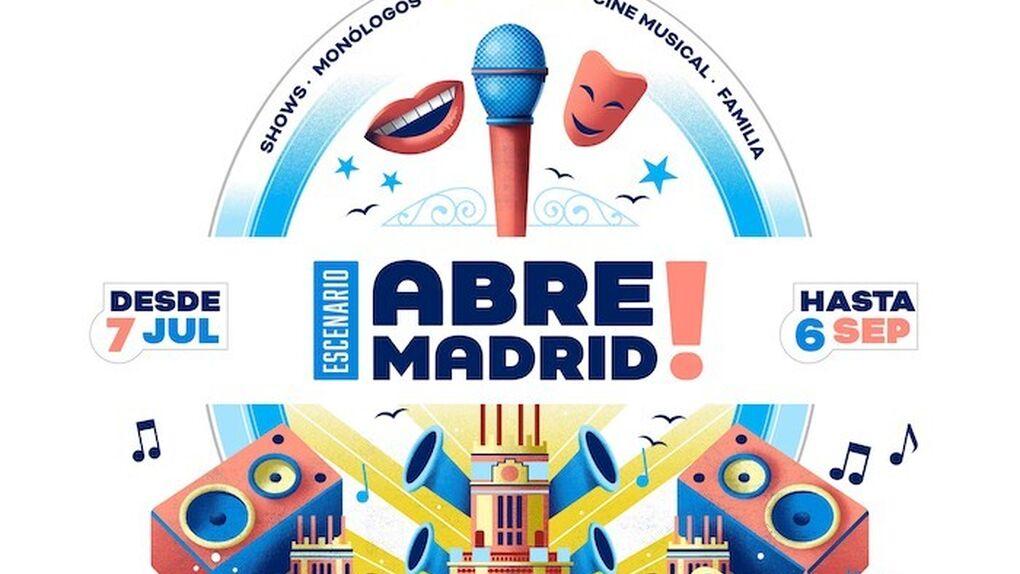 Abre Madrid! la nueva oferta cultural para el verano en la capital