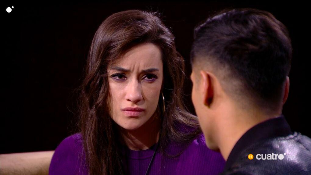 """Adara, devastada por los reproches de Gianmarco en 'GH VIP': """"Has jugado con mis sentimientos"""""""