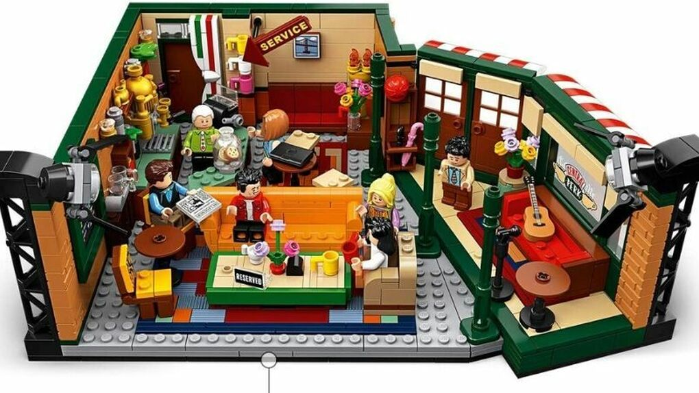 Ahora puedes tener la cafetería de Central Perk de Friends en tu casa gracias a LEGO Ideas