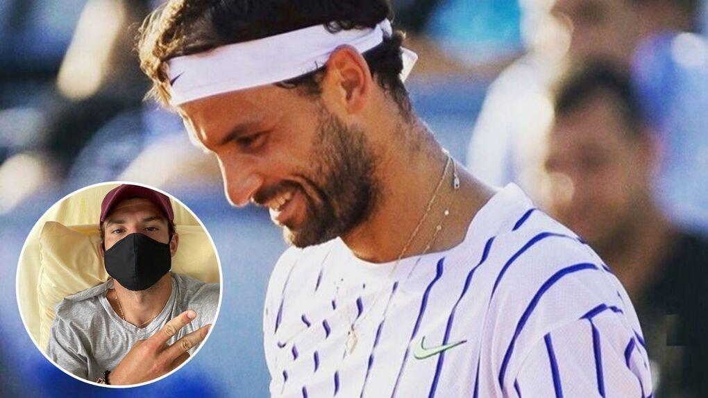 Alarma en el tenis tras de dar positivo en coronavirus Dimitrov y Coric en el torneo de Djokovic
