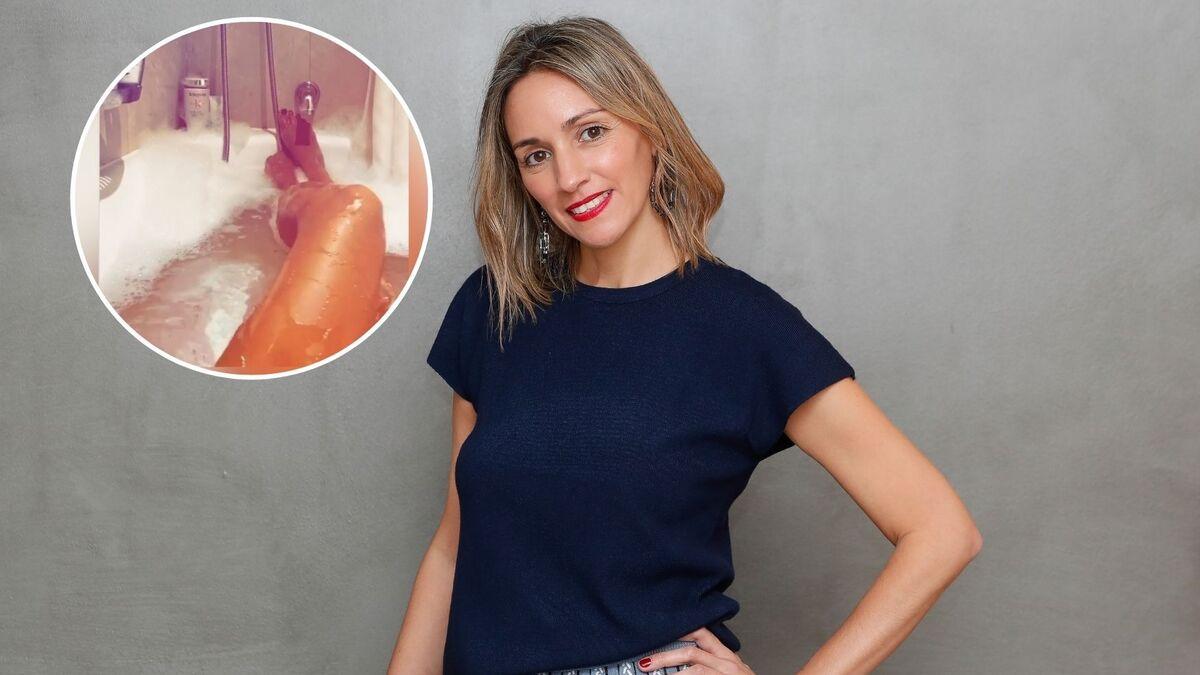 La ex de Albert Rivera, Beatriz Tajuelo, se graba desnuda en la bañera